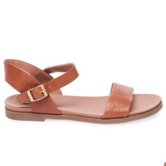 9c526b6f574 Steve Madden Dina Tan Leather Sandals